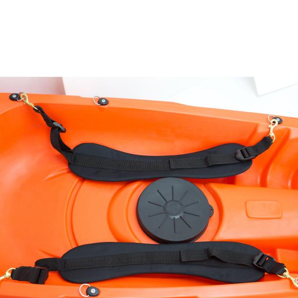 Sit On Top Kayak RUK Sports Padded Thigh Straps