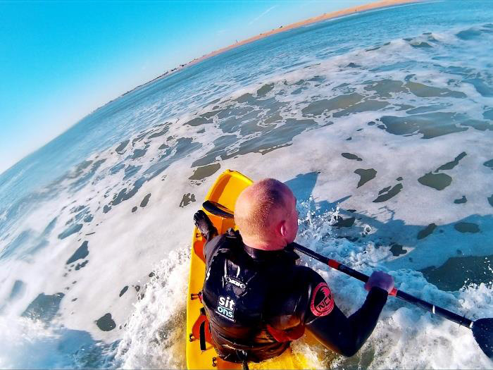 Surf Kayak from Fatyak™ Kayaks - designed for the waves!