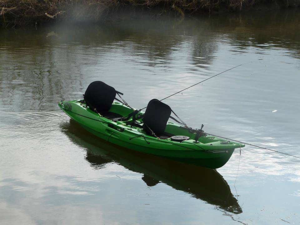 Mahee Fishing Kayak in Green
